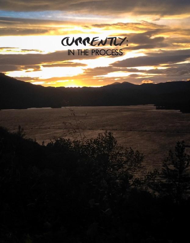sunset whiskeytown lake