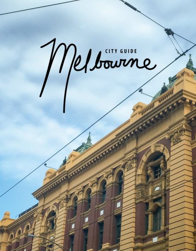 city guide melbourne
