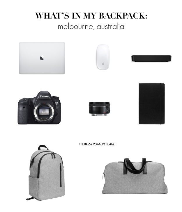 whats in my bag australia 2
