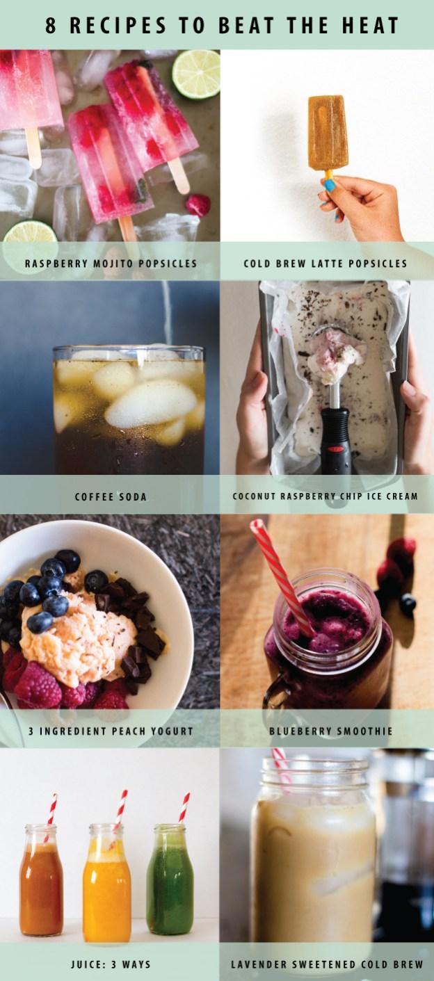 8 recipes to beat the heat