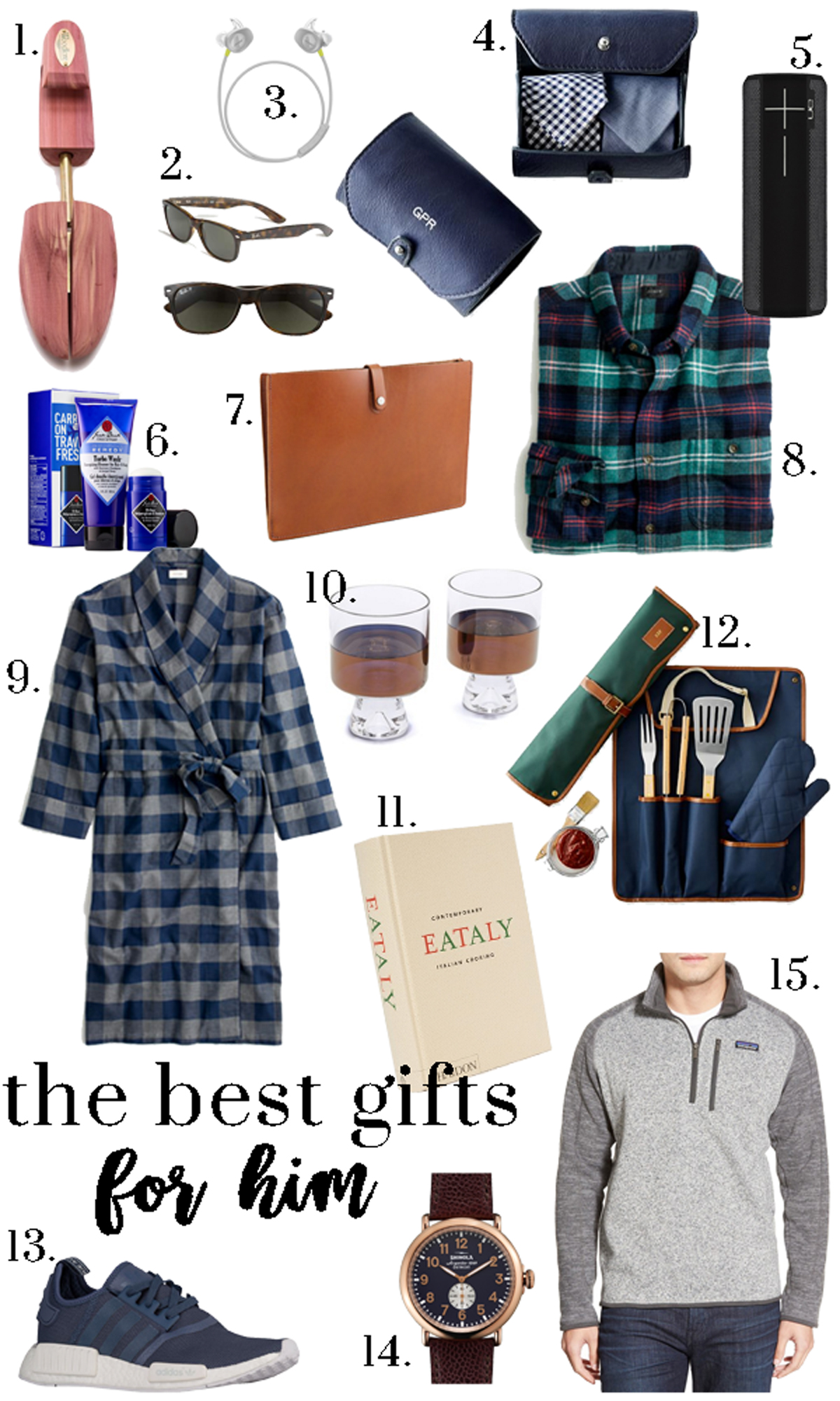 The Best Gifts For Him Glitter Gingham