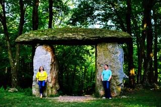 Columcille Megalith Park Engagement Photos {Abby & Joe}
