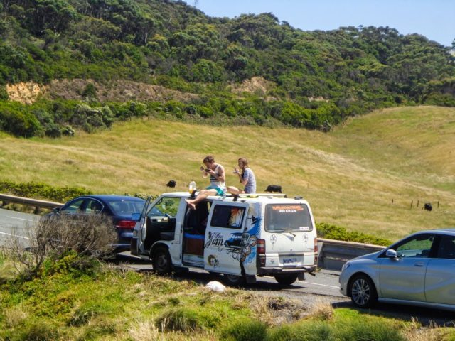 great ocean road campervan