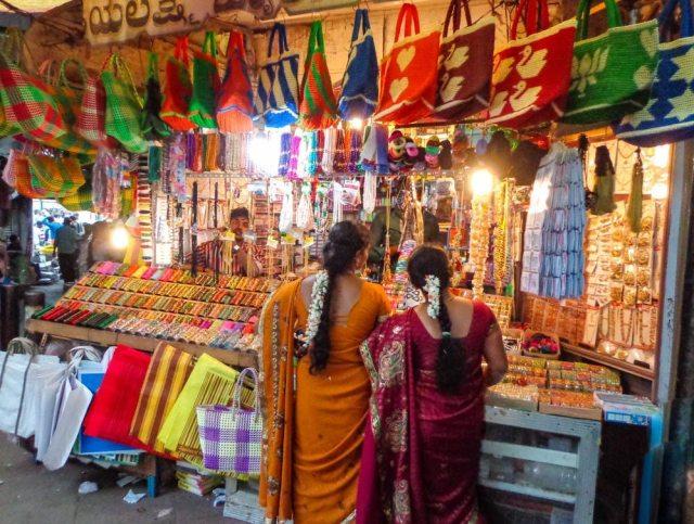 mysore market ladies shopping