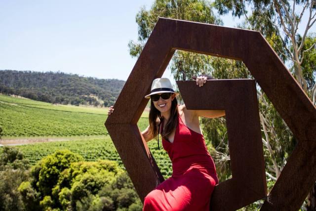 Anna in the Yarra Valley, Australia