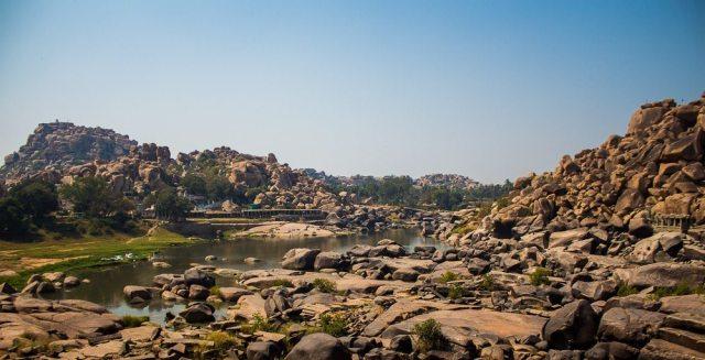 Hampi boulder landscape