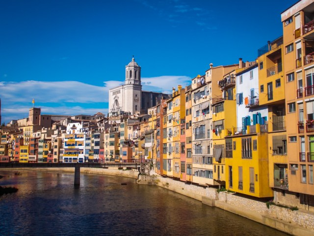 why you should visit girona - the views from the bridges