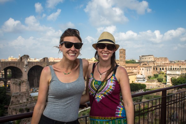 With my awesome LivItaly tour guide - Rachel