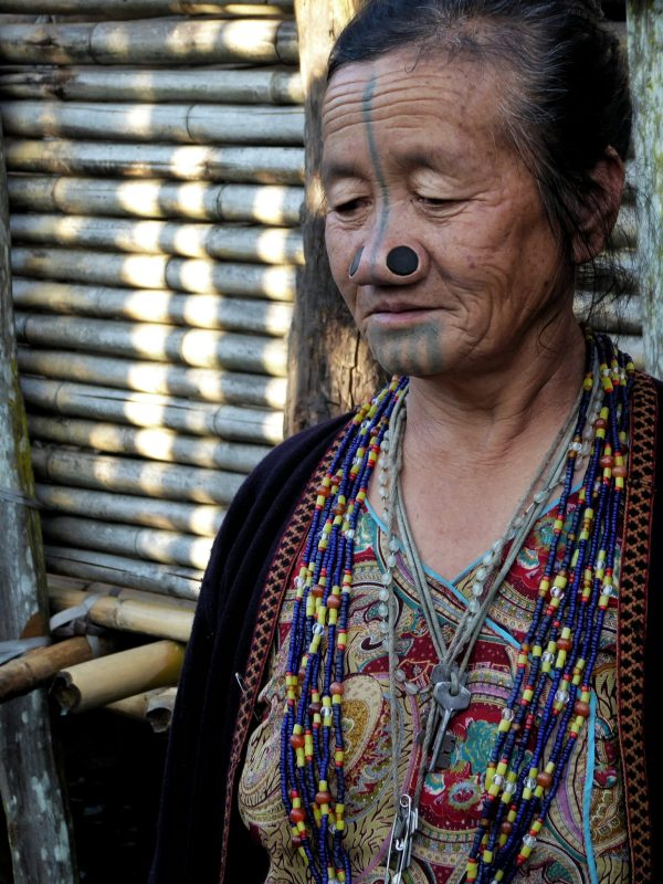 Apatani Women in Ziro Valley, North East India