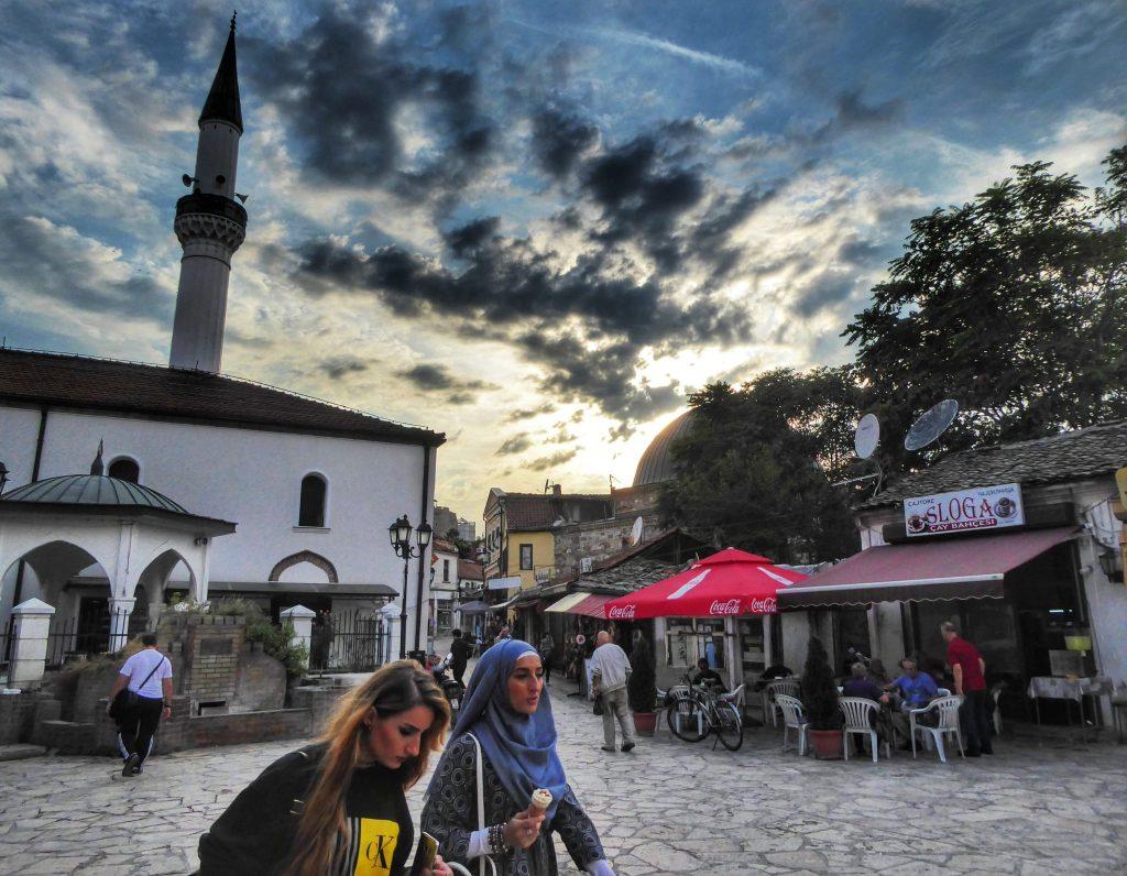 The Ottoman era old town in Skopje, Macedonia