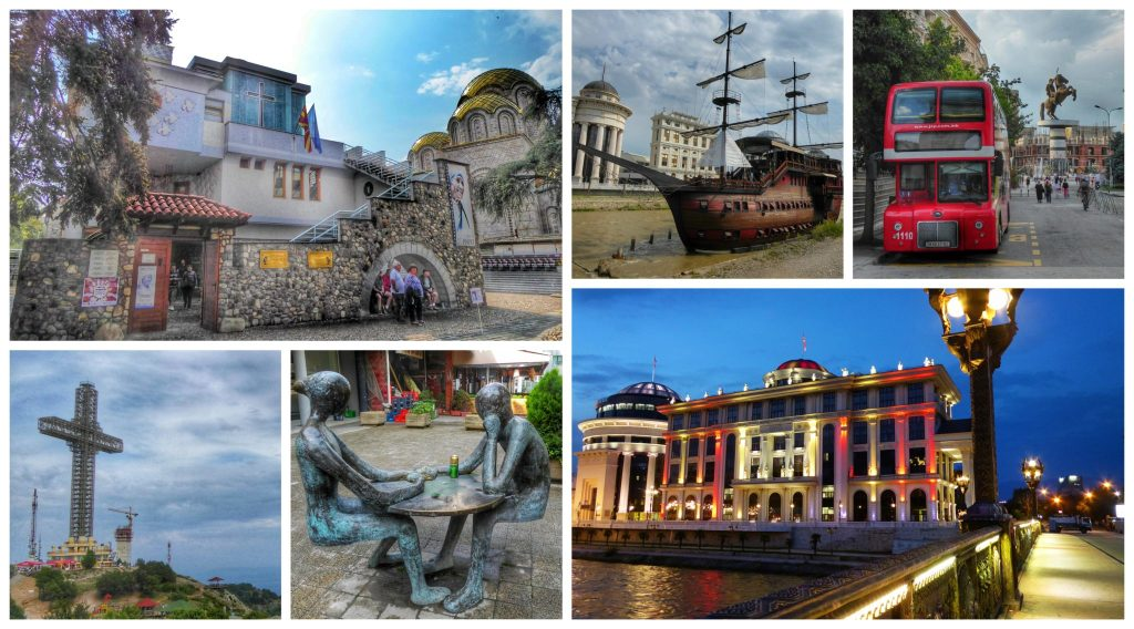 Some of the quirky and kitsch things to see in Skopje
