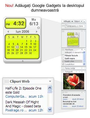 Google Desktop Romanian