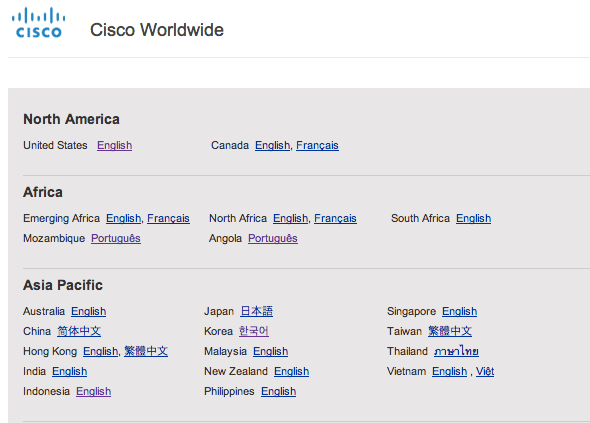 Cisco global gateway