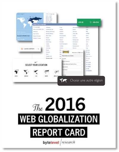 Web Globalization Report Card 2016