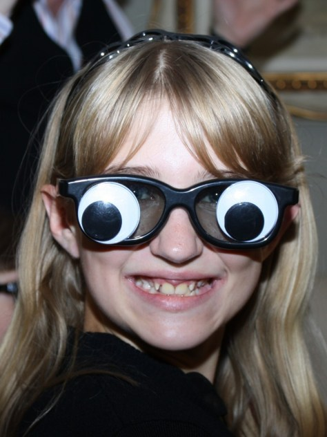 Mikhaila loves her googly-eyes!