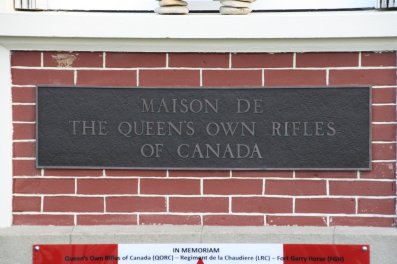 Canada House - first house liberated by the Canadians on D-Day