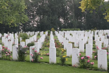 Canadian Cemetery near Juno Beach