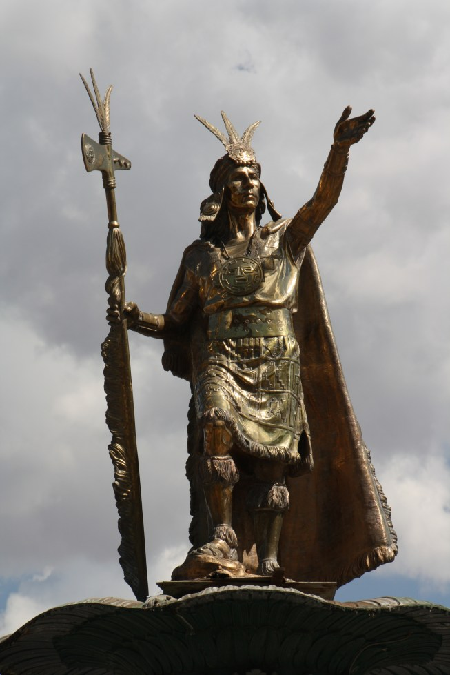The ninth Inca Emperor Pachacuti