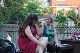 Talking together