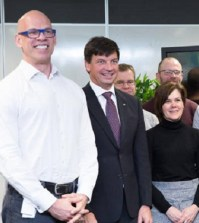 Paul Shetler (pictured left), currently the chief executive of the Digital Transformation Office in Australia, will take on the newly-created role of chief digital officer