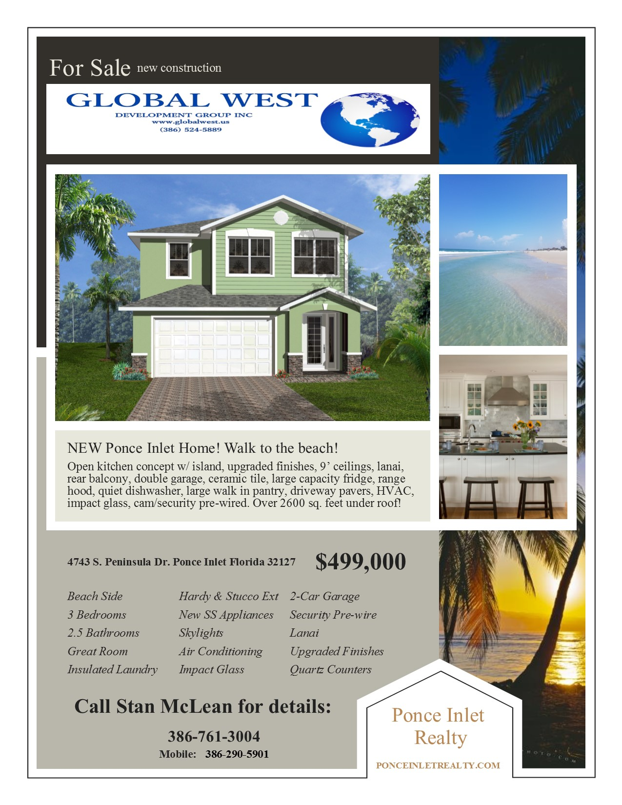 houses for global west development group inc 386 524 5889 peninsula brochure
