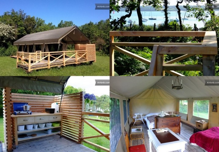 Glamping à Fouesnant