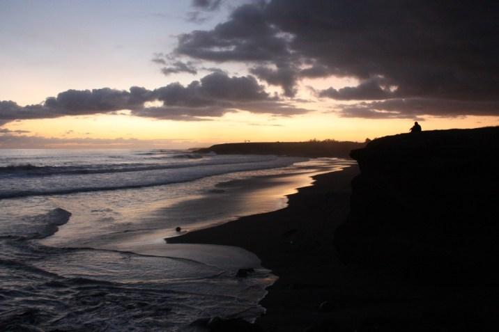 Coucher de soleil au pic du diable - St Pierre - Ile de la Réunion