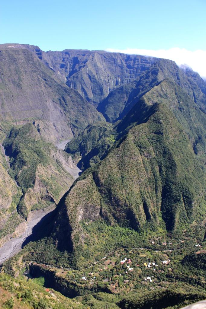 Vue sur Grand Bassin - Ile de la Réunion
