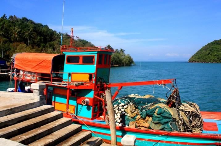 Bateau pêche Lo Paret - Koh Yao Yai - Thailande