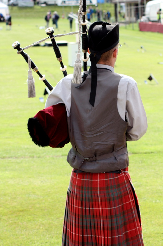 Joueur cornemuse - Highland Games - Ecosse