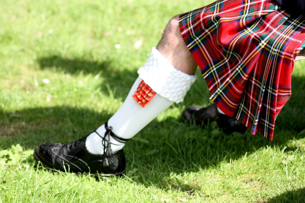 Kilt - Highland Games - Ecosse