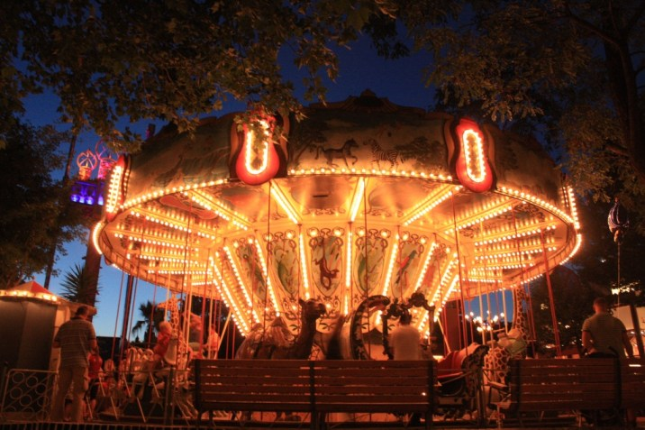Carrousel - Tivoli - copenhague