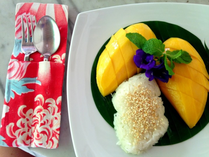 Sticky rice with mango - Phuket