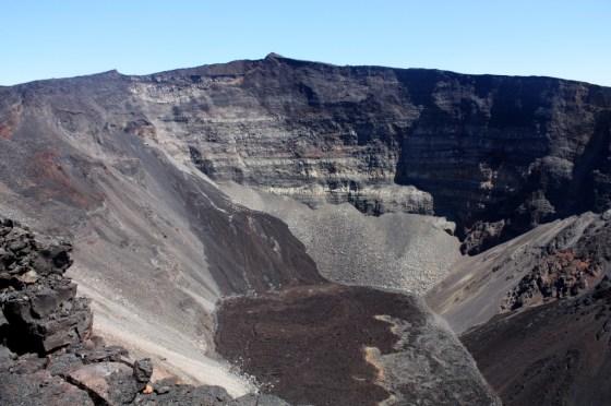 Vue Dolomieu - volcan - ile de la Réunion
