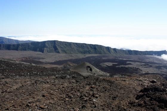 cratère - volcan - ile de la Réunion