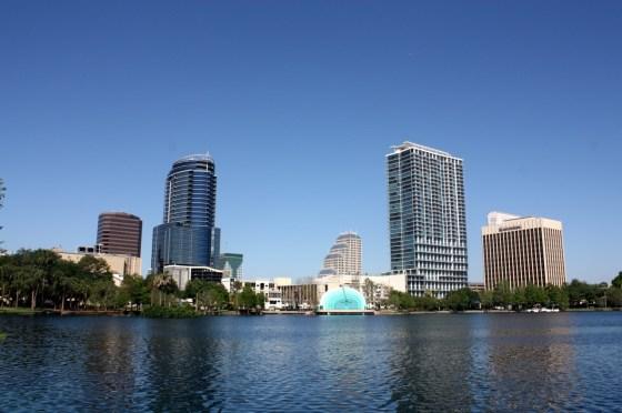 étang - Orlando - Floride