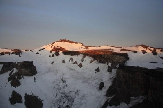 Cratère Mont Fuji - Japon