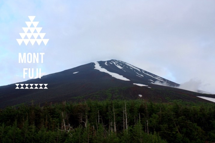 Vue sur le Mont Fuji - Japon