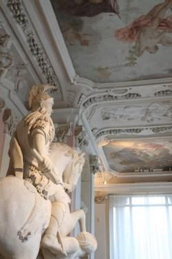 Intérieur palais Wilanow - Varsovie