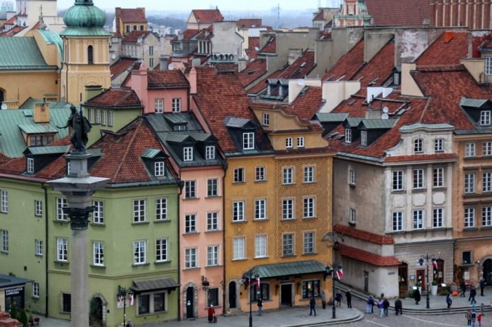 Place Zamkowy - Varsovie