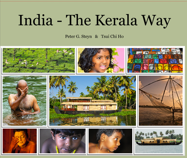 "This 216 glossy page book is packed with photos of Kerala State, India, to introduce the reader to living life ""the Kerala way."""