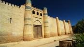 Harem next to Isfandiyar Palace, Khiva, Uzbekistan