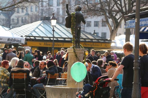 Der Biergarten am Viktualienmarkt (Photo: Sigi Mueller)