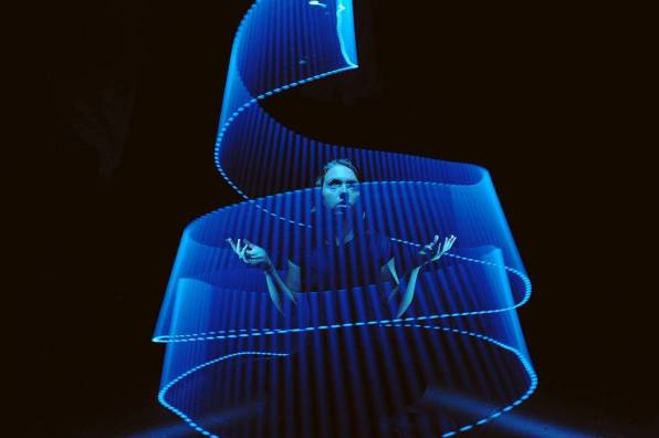 Lightpainting by Bert Silzner