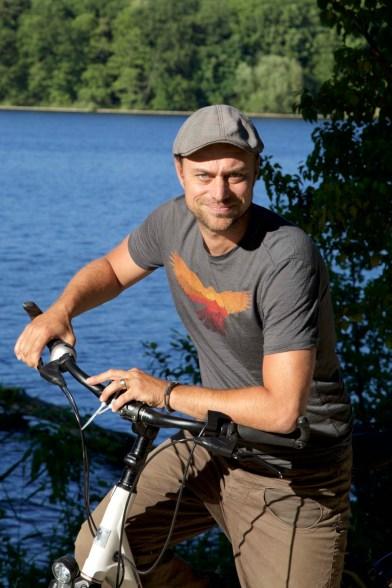 Autor Martin Hoch unterwegs im Havelland