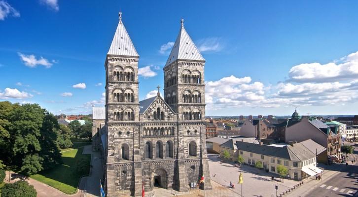Lund: wokół katedry - Szwecja