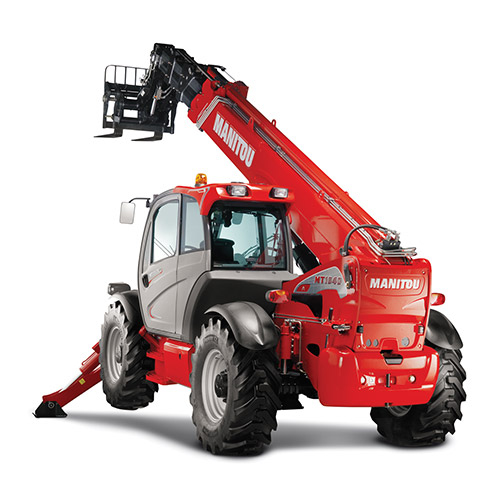 Picture showing a Manitou MT truck