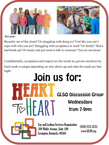 Heart to Heart Discussion Group
