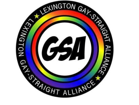 Lexington Gay/Straight Alliance for Youth Logo