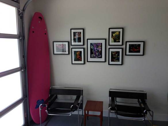 collection of photographs by Ira Cohen in the GlucoLift office